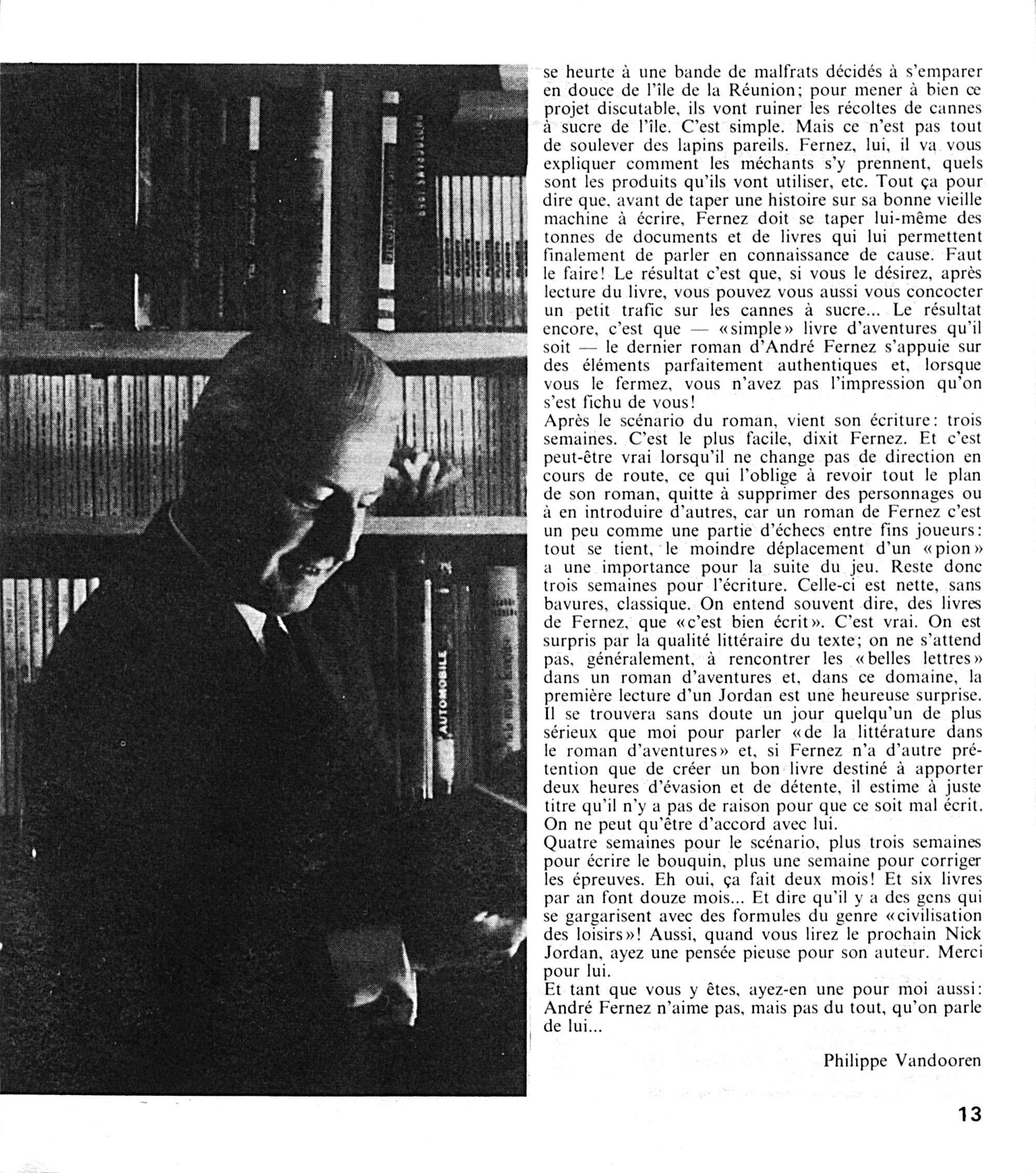 Extrait du magazine Marabout n°17 (1968). Merci à Masque Jade.