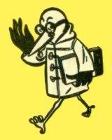 """Marabout portant sous son aile un Marabout Junior avec large bordure noire (dit """"grande serviette"""")"""