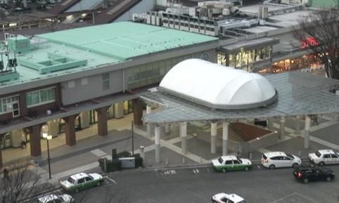 Gare de Fukushima côté Est
